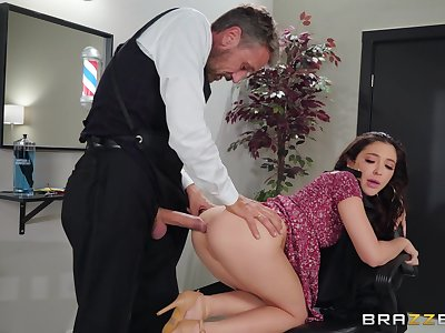 Gorgeous sunless Jane Wilde's sexy ass pounded hardcore